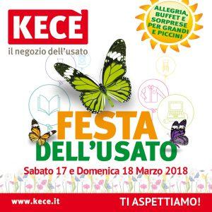 Festa dell'usato KECE' l'evento di primavera